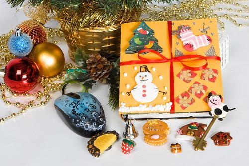 Новогодние сувениры фото своими руками