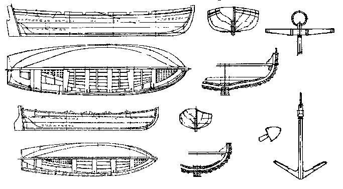 схема постройки деревянной