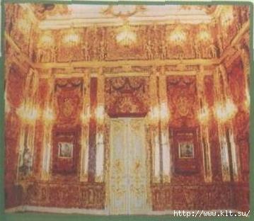 Янтарная комната в Доме отдыха Покровское