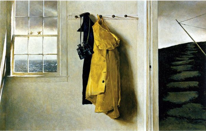 Andrew Wyeth  ,,Squall 1986 (700x446, 63Kb)