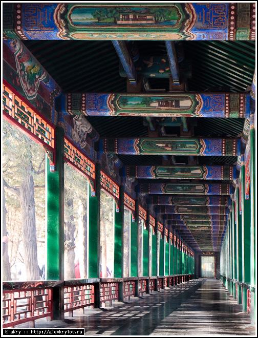 Галерея Чанлан. Пекин, Летний дворец