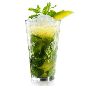 """Излюбленный кубинский напиток в  """"трезвой """" вариации."""