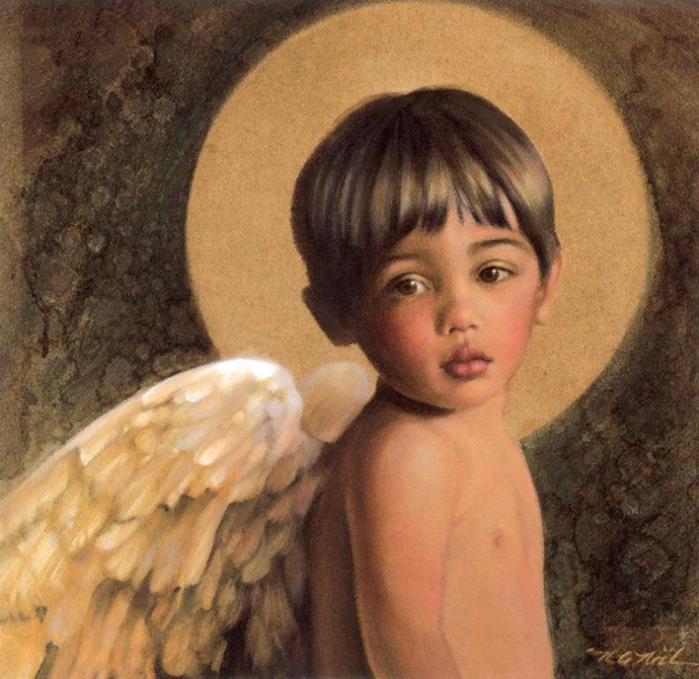 Ангелы-дети Nancy А. Noel.