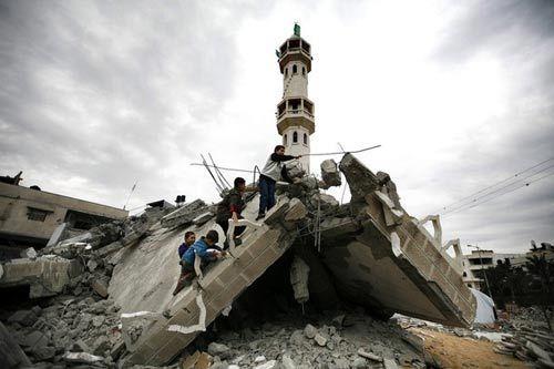 Сектор Газа разрушения