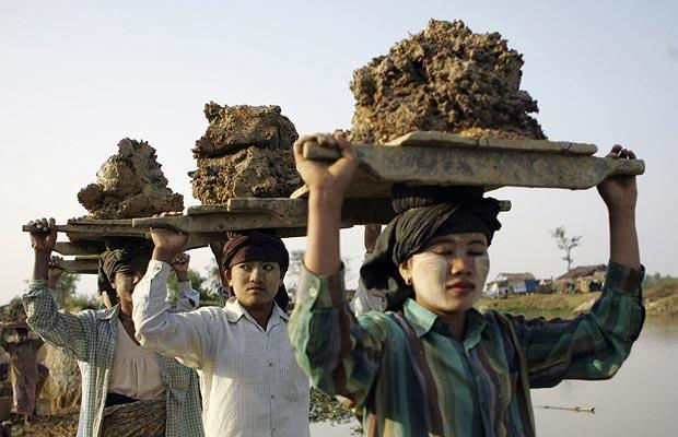 День в картинках 20 января 2099 Мьянма Бирма