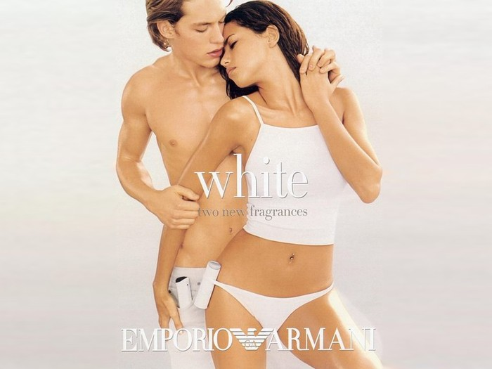 an analysis of emporio armani white fragrance advertisement in cosmopolitan magazine of march issue