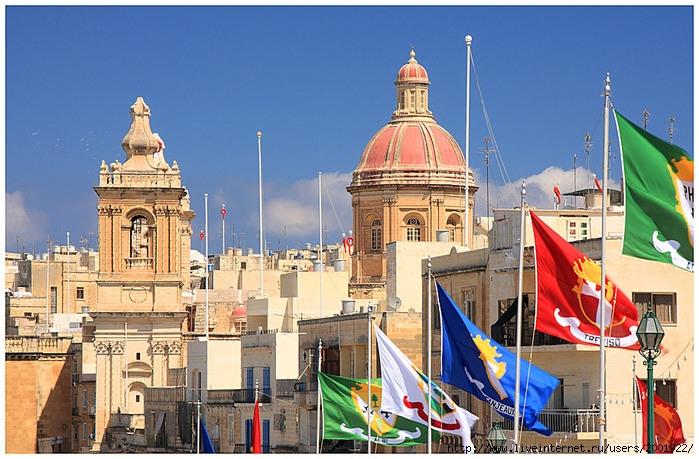 онлайн флаги на башнях
