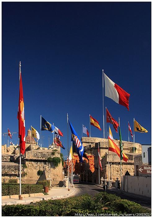 смотреть флаги на башнях