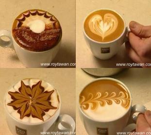 Рецепты в картинках. красивый кофе. в цитатник. поставить ссылку.