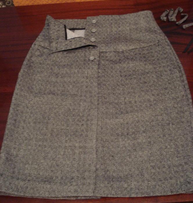 Во что перешить юбку-брюки