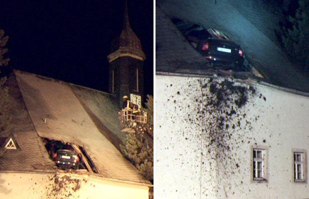 День в картинках авто на церковной крыше