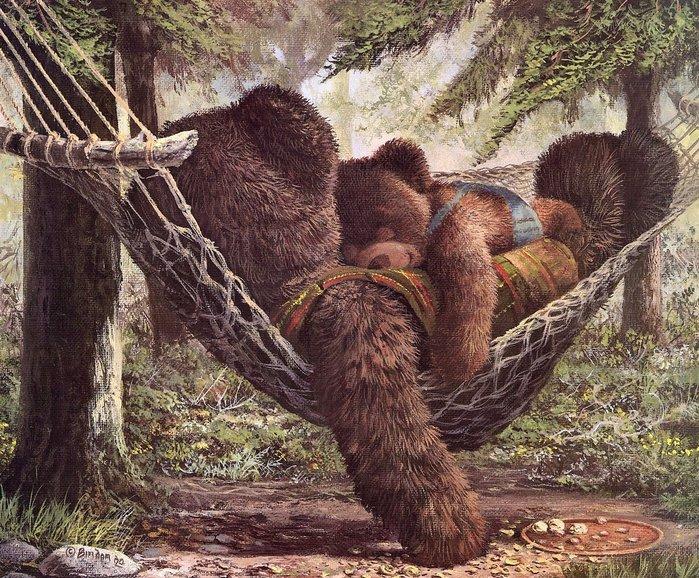 """Григорий Беркович.   """"По дорожке шли медведи: Миша, Гриша, Петя, Федя."""