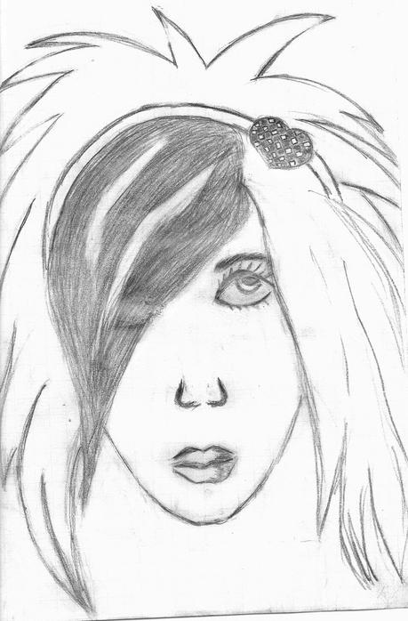я нарисовала эмо.