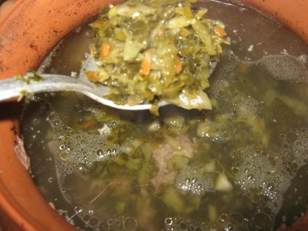 щи зеленые из капусты рецепт