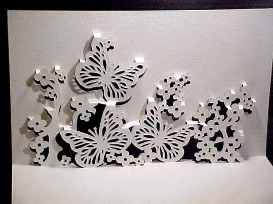 Киригами (яп. 切 り 紙?) - вид оригами, в котором допускается использование ножниц и разрезание бумаги в процессе...