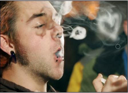 Как колечки сделать из дыма