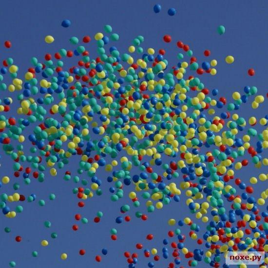 Запуск воздушных шаров - пожалуй, самое красивое и волшебное зрелище, связа