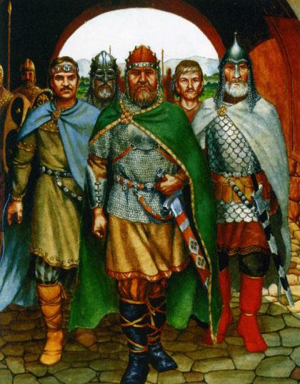 Земледелие и скотоводство были славянам хорошо известны, поэтому они ими не занимались.  Торговать славяне не умели...