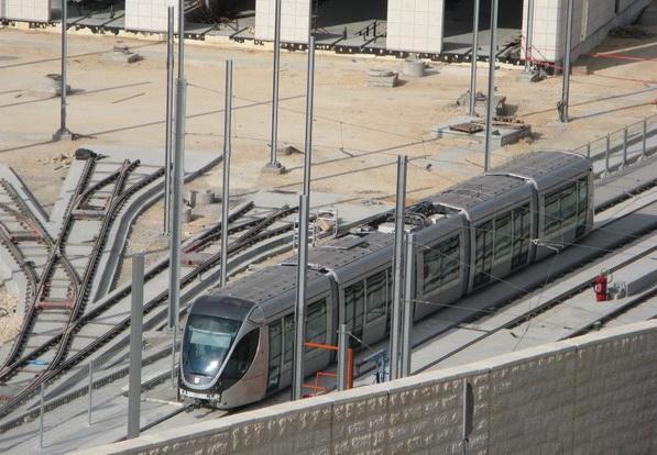 Скоростной трамвай в Израиле
