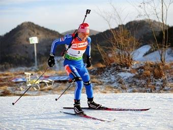 Биатлон женская эстафета 4 по 6 км Пхенчхан