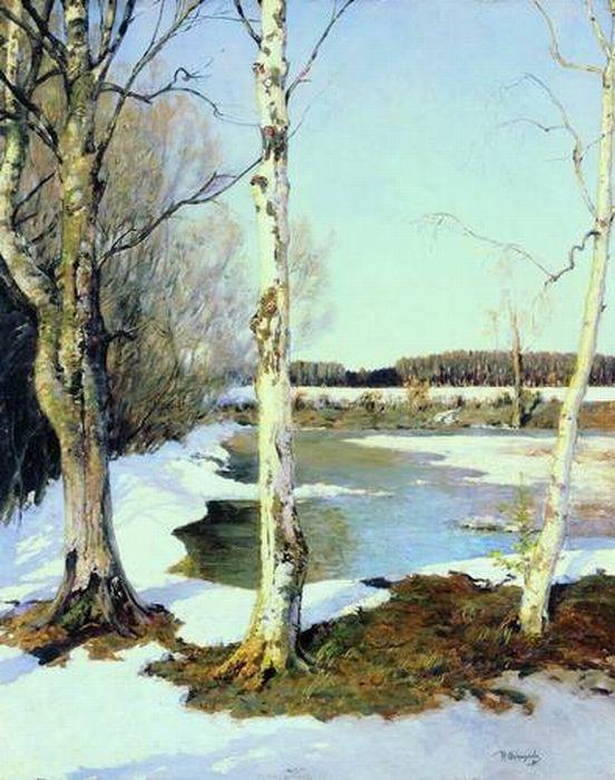 Весна в живописи русских художников