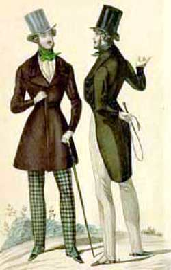 Парижские денди 1830-х