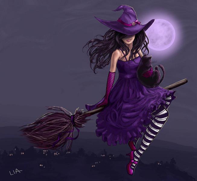 Желание картинкой - Страница 2 40023614_13783126_witch