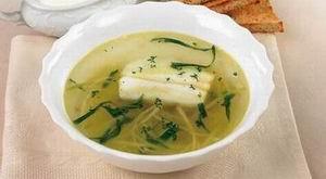 Рецепт супа Рассольник с зубаткой