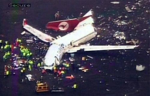 В Амстердаме разбился «Боинг-737»