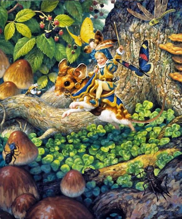 Сказочный мир Scott Gustafson
