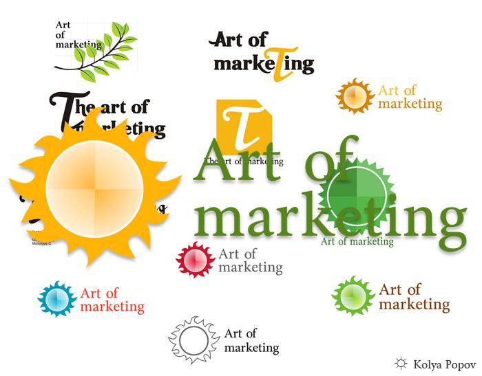 art of marketing logo