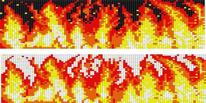 из бисера. схема плетения