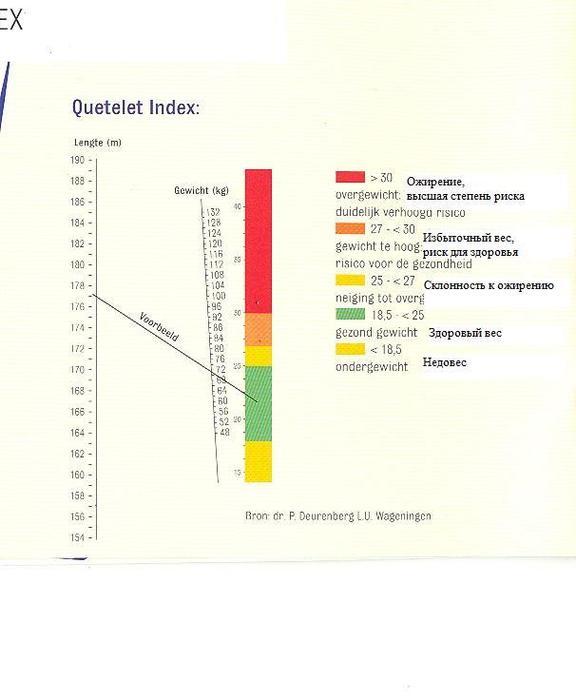 Индекс веса (схема)