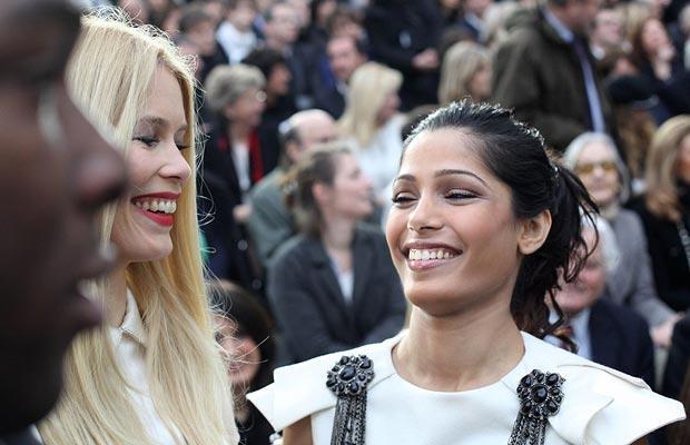 Парижская неделя моды знаменитости