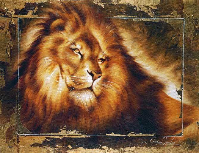 """Схема для вышивки бисером  """"Лев  """" - токарева,лев,канва аида (aida) 14 Ну, значит, будет за что потом пожалеть) ."""