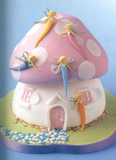 мастер класс детский торт из мастики.