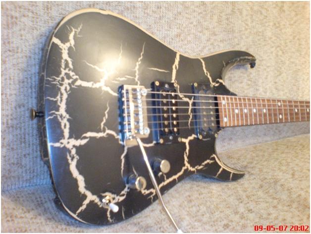 Чем покраска гитары своими руками