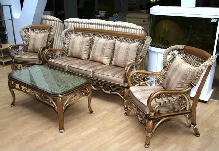 Плетеная мебель - уют и элегантность.