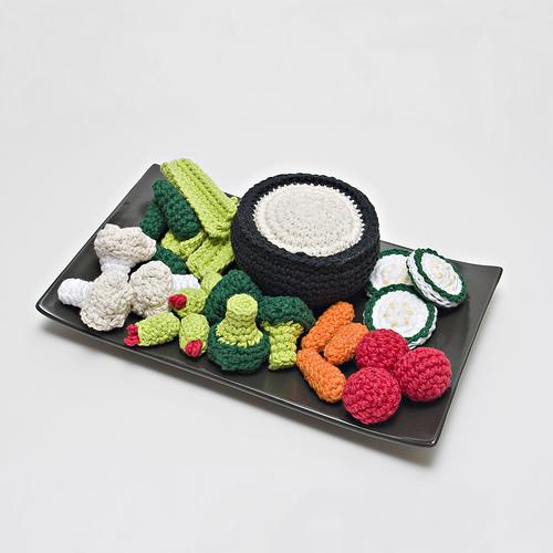 Рукоделие вязание крючком полезных мелочей.