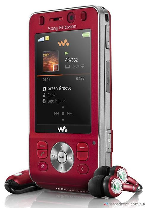 Продаю свой б/у телефон Sony Ericsson W910i (красного цвета), ему 1 год...