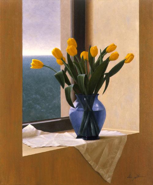 Anthony d elia april tulips