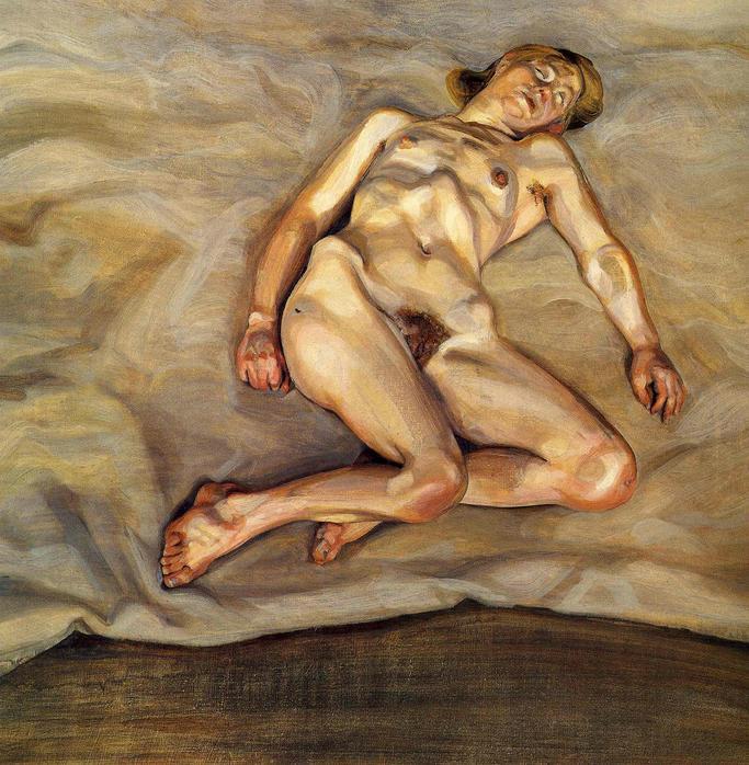 Спящая обнаженная женщина 7 фотография