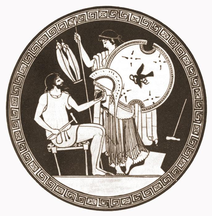 ...Зевс подмешал в медовый напиток Кроноса горчицу и соль.