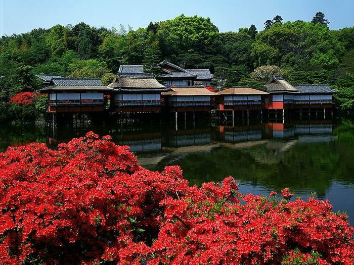 Сады и парки японии