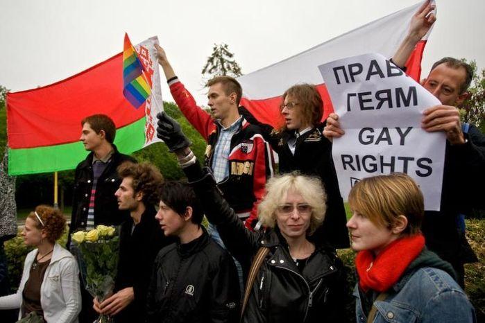 Как прошел гей-парад в Москве (18 фото). Посты по тегу интересное&qu