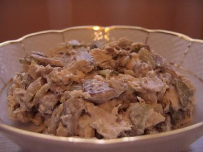 Салат свекла с селедкой салат семга