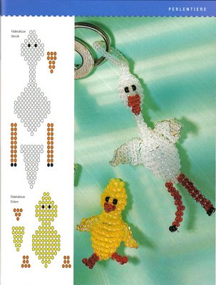 Птицы из бисера.  Игрушки- сувениры, игрушки-брелоки, игрушки- украшения для ваших цветов, игрушки подарки.