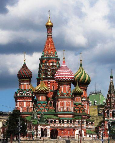 Собор Василия Блаженного на Красной площади.  Он построен в 1555-1561 годах по указу Ивана Грозного в честь взятия...