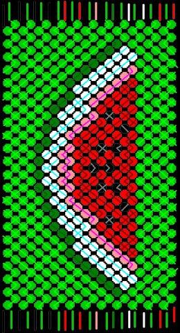 Плетение: Схемы фенечек