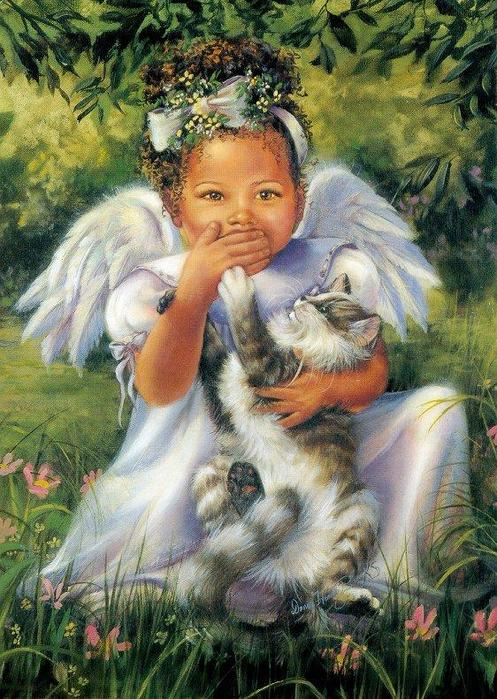 Дети ангелы от Joyce Ann Birkenstock и Donna Brooks.
